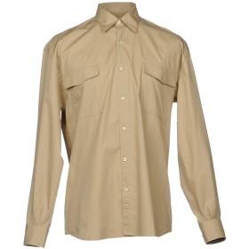 《期間限定セール開催中!》CAMO メンズ シャツ サンド S コットン 100%