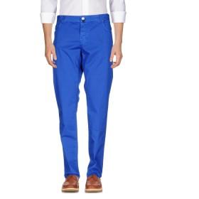 《期間限定セール開催中!》LUIGI BORRELLI NAPOLI メンズ パンツ ブライトブルー 30 コットン 98% / ポリウレタン 2%