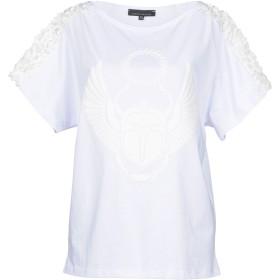 《期間限定セール開催中!》FRANKIE MORELLO レディース T シャツ ホワイト XS 100% コットン
