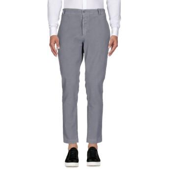 《期間限定 セール開催中》DANIELE ALESSANDRINI HOMME メンズ パンツ グレー 44 コットン 98% / ポリウレタン 2%