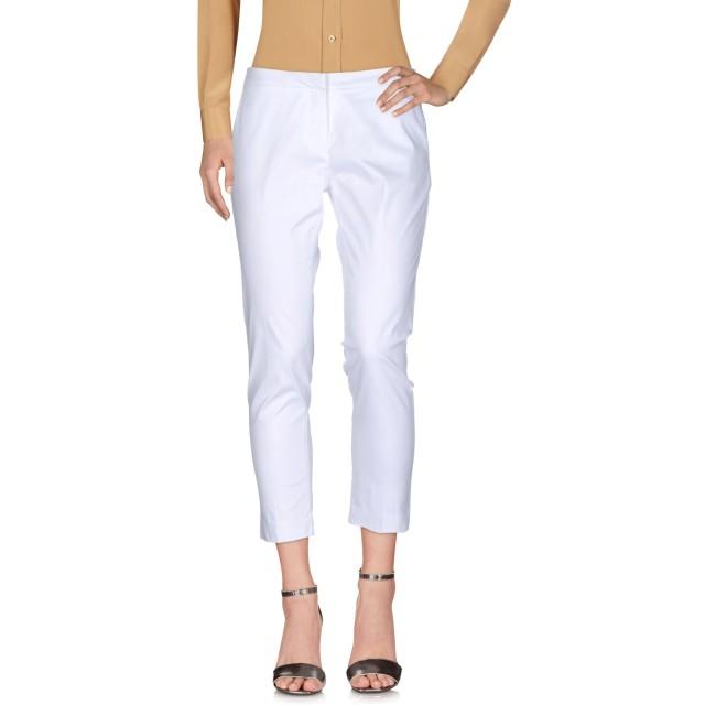 《セール開催中》KI6 WHO ARE YOU レディース パンツ ホワイト 42 コットン 96% / ポリウレタン 4%