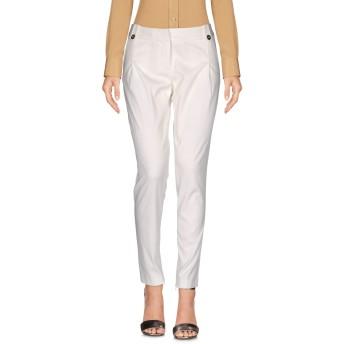《セール開催中》MANGANO レディース パンツ ホワイト 40 指定外繊維(テンセル) / ナイロン