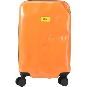 《期間限定セール開催中!》CRASH BAGGAGE Unisex キャスター付きバッグ オレンジ ポリカーボネート PIONEER Cabin 4w.