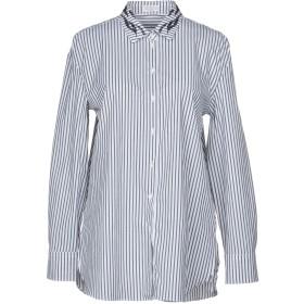 《セール開催中》BRUNELLO CUCINELLI レディース シャツ ホワイト XS コットン 95% / ポリウレタン 5%