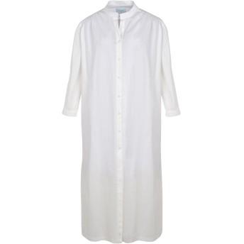 《期間限定セール開催中!》JOVONNA レディース 7分丈ワンピース・ドレス ホワイト 8 コットン 100% Dinua dress
