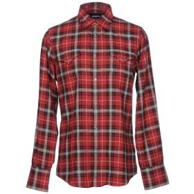 《期間限定 セール開催中》DSQUARED2 メンズ シャツ ボルドー 44 コットン 100%