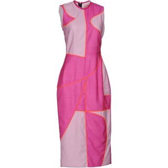 《セール開催中》ROKSANDA レディース 7分丈ワンピース・ドレス モーブ 10 ポリエステル 100%