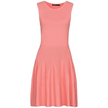 《セール開催中》KAREN MILLEN レディース ミニワンピース&ドレス ピンク S 84% レーヨン 13% ナイロン 2% ポリウレタン 1% ポリエステル
