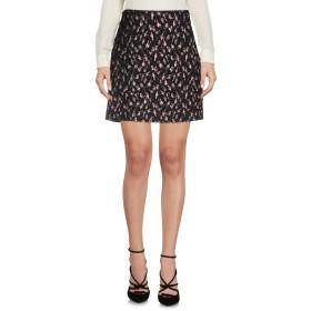 《期間限定セール中》BLUGIRL FOLIES レディース ひざ丈スカート ブラック 40 58% ポリエステル 30% コットン 8% 金属 4% ポリウレタン