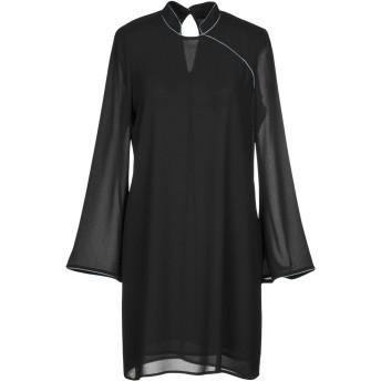 《期間限定セール開催中!》SOUVENIR レディース ミニワンピース&ドレス ブラック XS ポリエステル 100%