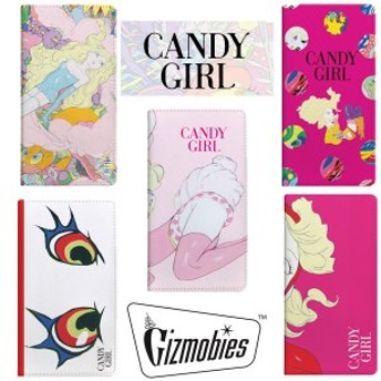 CANDY GIRL(キャンディガール)×Gizmobies(ギズモビーズ) iPhone6/6s専用手帳型ケース 】