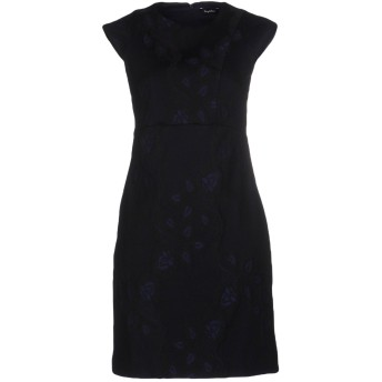 《セール開催中》BYBLOS レディース ミニワンピース&ドレス ダークブルー 46 コットン 94% / 指定外繊維 4% / ポリウレタン 2%