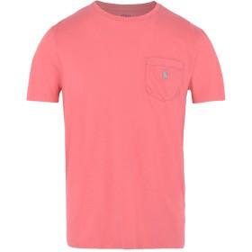 《期間限定 セール開催中》POLO RALPH LAUREN メンズ T シャツ コーラル S コットン 100% Custom Fit T shirt