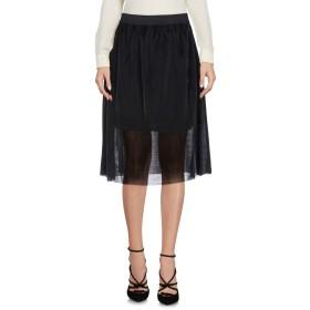 《期間限定 セール開催中》JACQUELINE de YONG レディース ひざ丈スカート ブラック XS ポリエステル 65% / 金属 35%