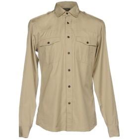 《期間限定 セール開催中》BELSTAFF メンズ シャツ ベージュ S コットン 100%