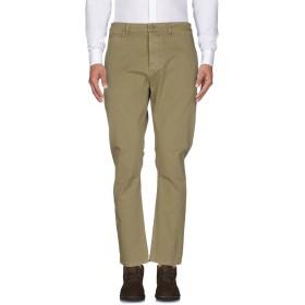 《期間限定セール開催中!》GREY DANIELE ALESSANDRINI メンズ パンツ ミリタリーグリーン 36 コットン 97% / ポリウレタン 3%