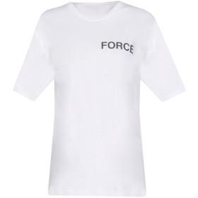《期間限定セール開催中!》ANREALAGE レディース T シャツ ホワイト 44 コットン 100%