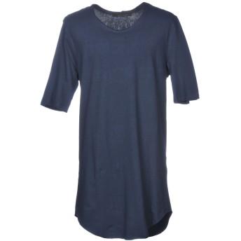《セール開催中》BAD SPIRIT メンズ T シャツ ダークブルー L 100% コットン