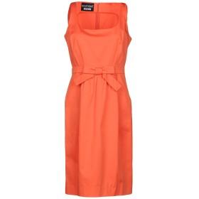 《期間限定 セール開催中》BOUTIQUE MOSCHINO レディース ミニワンピース&ドレス オレンジ 46 97% コットン 3% 指定外繊維