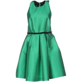 《セール開催中》NORA BARTH レディース ミニワンピース&ドレス グリーン 42 ポリエステル 85% / シルク 15%