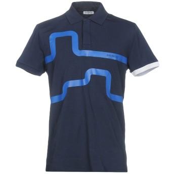 《期間限定セール開催中!》BIKKEMBERGS メンズ ポロシャツ ダークブルー XS コットン 92% / ポリウレタン 8%