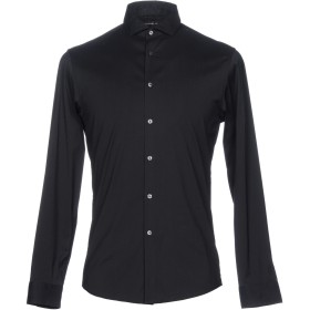 《送料無料》MICHAEL KORS MENS メンズ シャツ ブラック XS コットン 67% / ナイロン 29% / ポリウレタン 4%
