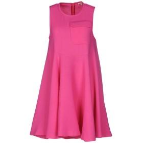 《送料無料》P.A.R.O.S.H. レディース ミニワンピース&ドレス フューシャ M ウール 93% / ナイロン 5% / ポリウレタン 2%