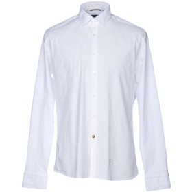 《期間限定セール開催中!》AT.P.CO メンズ シャツ ホワイト 41 コットン 97% / ポリウレタン 3%