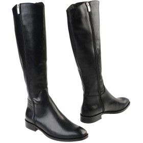 《期間限定セール開催中!》LEONARDO PRINCIPI レディース ブーツ ブラック 35 牛革(カーフ) 100%