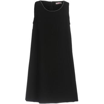 《セール開催中》BLUGIRL BLUMARINE レディース ミニワンピース&ドレス ブラック 42 95% ポリエステル 5% ポリウレタン