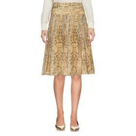 《セール開催中》VANESSA ARESU レディース ひざ丈スカート サンド 40 ポリエステル 100%