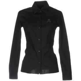 《セール開催中》PHILIPP PLEIN レディース シャツ ブラック XS コットン 100%