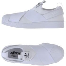 《セール開催中》ADIDAS ORIGINALS レディース スニーカー&テニスシューズ(ローカット) ホワイト 6 紡績繊維 / 革 Superstar Slip On W
