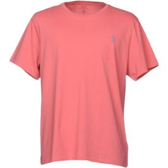 《セール開催中》POLO RALPH LAUREN メンズ T シャツ パステルピンク S コットン 100%
