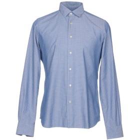 《9/20まで! 限定セール開催中》LIU JO MAN メンズ シャツ パステルブルー 38 コットン 100%