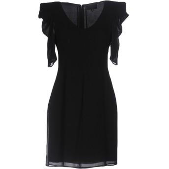 《セール開催中》RICHMOND X レディース ミニワンピース&ドレス ブラック 42 94% シルク 6% ポリウレタン