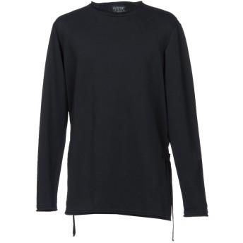 《期間限定セール開催中!》OVERCOME メンズ スウェットシャツ ブラック M コットン 100%