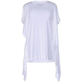 《期間限定 セール開催中》MARQUES' ALMEIDA レディース T シャツ ホワイト S テンセル 100%