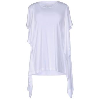 《9/20まで! 限定セール開催中》MARQUES' ALMEIDA レディース T シャツ ホワイト S テンセル 100%