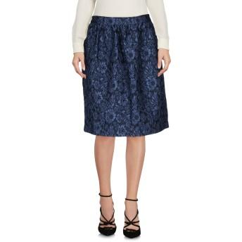 《セール開催中》SONIA DE NISCO レディース ひざ丈スカート ダークブルー 40 ポリエステル 74% / ナイロン 23% / ポリウレタン 3%