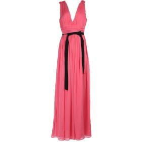 《セール開催中》MARCO BOLOGNA レディース ロングワンピース&ドレス フューシャ 44 シルク 100%