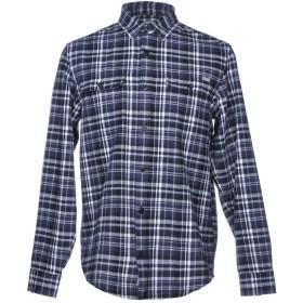 《セール開催中》CARHARTT メンズ シャツ ダークブルー S 100% コットン