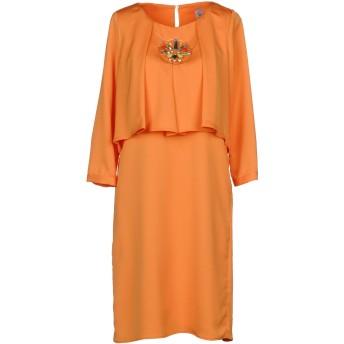 《セール開催中》VIOLET ATOS LOMBARDINI レディース ミニワンピース&ドレス あんず色 40 ポリエステル 100%