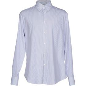 《期間限定セール開催中!》BRUNELLO CUCINELLI メンズ シャツ ブルー M コットン 100%