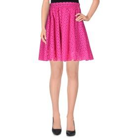 《期間限定 セール開催中》MSGM レディース ひざ丈スカート フューシャ 40 バージンウール 100%