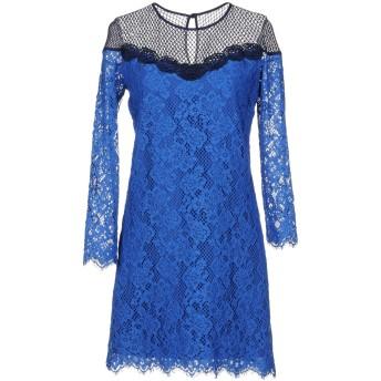 《9/20まで! 限定セール開催中》PINKO レディース ミニワンピース&ドレス ブルー 40 コットン 98% / ナイロン 2%