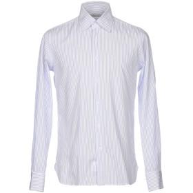 《期間限定セール開催中!》ALV ANDARE LONTANO VIAGGIANDO メンズ シャツ アジュールブルー 43 コットン 100%