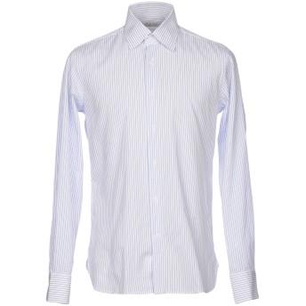 《9/20まで! 限定セール開催中》ALV ANDARE LONTANO VIAGGIANDO メンズ シャツ アジュールブルー 43 コットン 100%