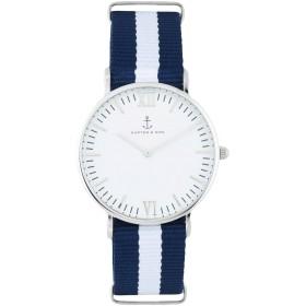 《期間限定セール開催中!》KAPTEN & SON Unisex 腕時計 ホワイト ステンレススチール / ナイロン CAMPUS - Sail