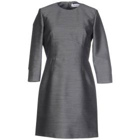 《期間限定 セール開催中》MAURO GRIFONI レディース ミニワンピース&ドレス 鉛色 40 ウール 55% / コットン 28% / ナイロン 17%
